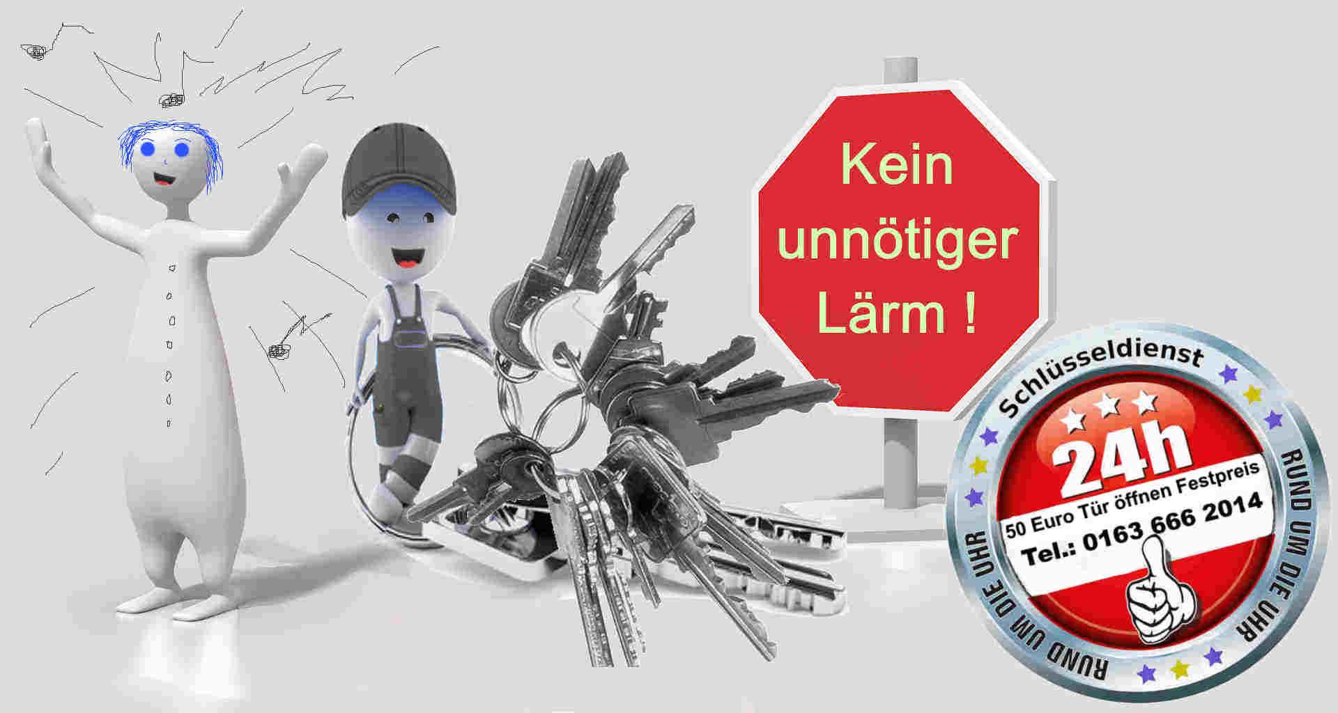 Schlüsseldienst Aachen Burtscheid - Tür öffnen zum 50 Euro Festpreis