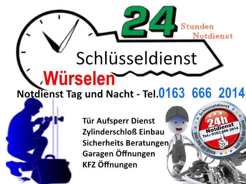 Schlüsseldienst Würselen Markt Kaiserstrasse und Würselen Umgebung zum 50 Euro Festpreis Tür Öffnen